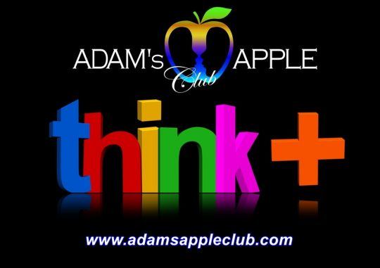 Think positive Adams Apple Club