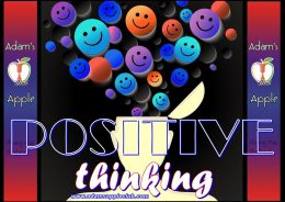 POSITIVE THINKING Adams Apple Club