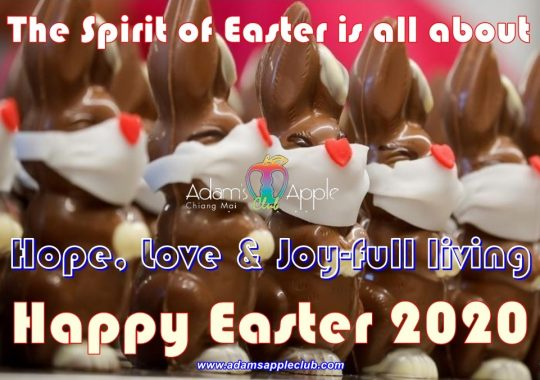 Happy Easter 2020 Adams Apple Club