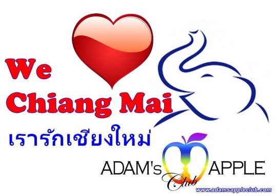 We LOVE Chiang Mai Adams Apple Club Host Bar Gay Bar