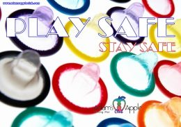 Stay Safe and Play Safe Adam's Apple Gay Club Chiang Mai