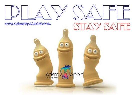 Stay Safer and Play Safe Adam's Apple Gay Club Chiang Mai