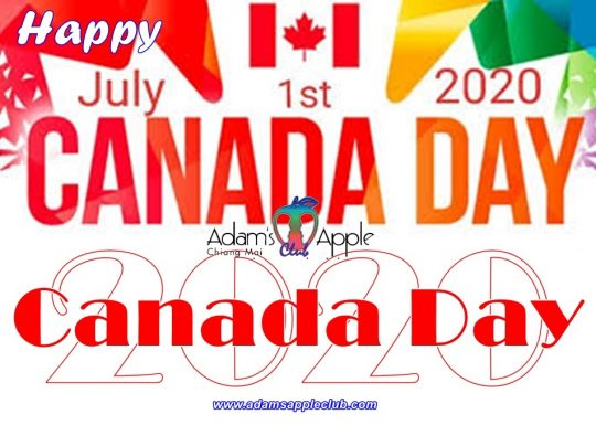 We wish all Canadians: Happy Canada Day 2020!