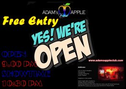Adams Apple Gay Club Chiang Mai Showtime
