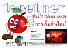 let's start over together Adams Apple Club Chiang Mai