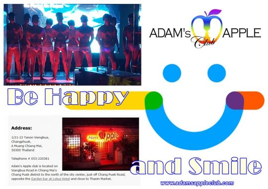 We will make You Happy & bring You a Smile Adams Apple Gay Club