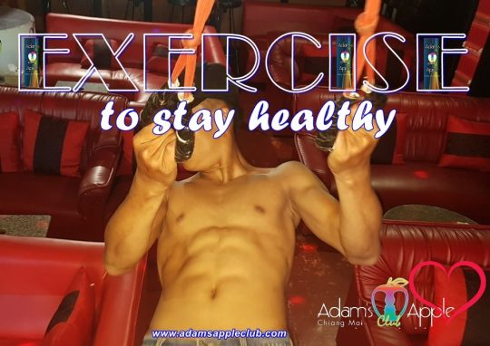 Exercise to stay healthy Adams Apple Club
