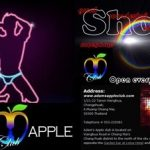 LED LIGHT SHOW Adams Apple Club Chiang Mai