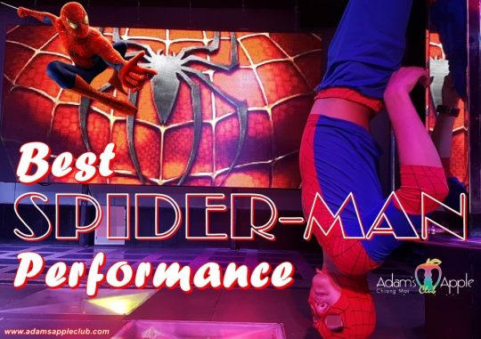 SPIDER-Man Performance Adams Apple Chiang Mai
