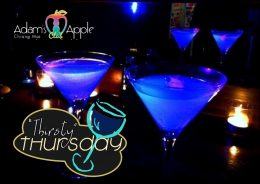 Thirsty Thursday Adams Apple Club Host Bar Chiang Mai