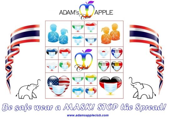 Let's Stop the Spread! Adams Apple Club Chiang Mai