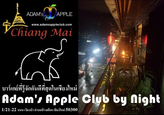 Adams Apple Club Chiang Mai by Night