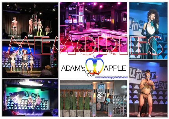 MEMORIES 2010 Golden - Unforgettable - Wonderful Go Go Bar. Some of our team pictures from Adams Apple Gay Club Chiang Mai.