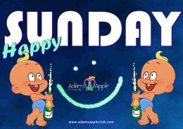 HAPPY SUNDAY YIPPEE YIPPEE YEAH Where to go SUNDAY NIGHT in Chiang Mai?The answer is quite easy: Adam's Apple Host Club the No.1 Host Bar in town.