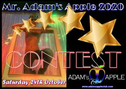 """Don't miss this unique EVENT """"CONTEST Mr. Adam's Apple 2020"""" in town @ Adams Apple Club Chiang Mai."""