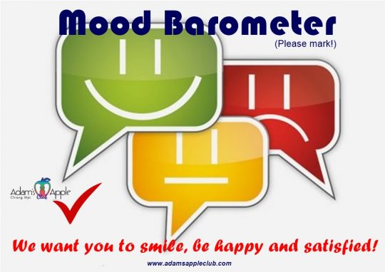Mood Barometer Adams Apple Club Chiang Mai Host Bar Adult Entertainment Go-Go Bar Gay Bar Thailand Ladyboy Cabaret Nightclub