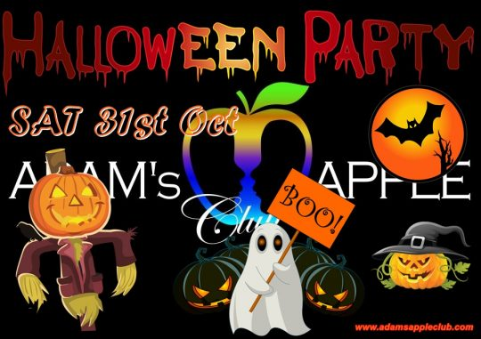 On Halloween 2020 Things to do Adam's Apple Club Chiang Mai Adult Entertainment Go-Go Bar Nightclub Liveshow Ladyboy Cabaret