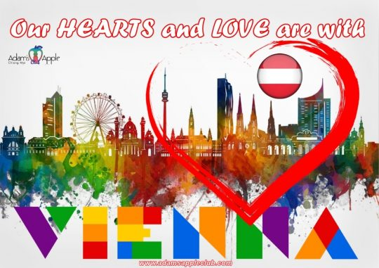 Our hearts and love are with VIENNA