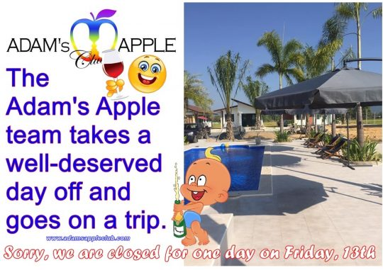 Well-deserved day off The Adam's Apple team takes a well-deserved day off and goes on a trip We are Family Nightclub Chiang Mai Adult Entertainment