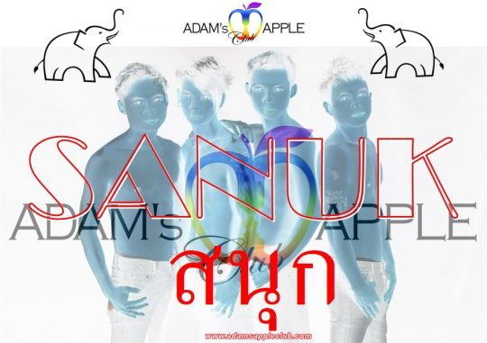 Sanuk Fun and more Adams Apple Club Chiang Mai Adult Entertainment Host Bar Gay Bar Ladyboy Nightclub Go-Go Bar Nightlife Asian Boy Cabaret