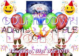 COUNTDOWN Party 2021 Adams Apple Club Gay Bar Chiang Mai Adult Entertainment Host Bar Ladyboy Show Nightclub LGBTQ บาร์เกย์เชียงใหม่ บาร์โฮสสันติธรรม