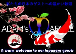 Japan - Nippon Adams Apple Club Chiang Mai Adult Entertainment A warm welcome to our Japanese guests Nightclub Ladyboy Liveshow LGBTQ