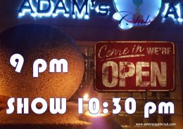 NOW OPEN Gay Bar Chiang Mai Adams Apple Club Adult Entertainment Nightclub Ladyboy Liveshow Thai Boys LGBTQ Thailand Go-Go Bar