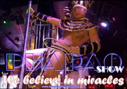PHARAO PERFORMANCE We believe in miracles Adams Apple Club Chiang Mai Adult Enetertainment Nightclub Host Bar Ladyboy Liveshow