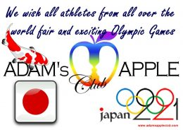 United by Emotions Olympic Games in Tokyo, JAPAN 2021 May these games give us hope and optimism again Gay Club Chiang Mai Gay Bar